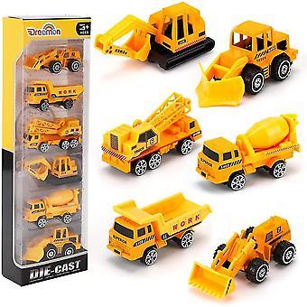 מיני משאית כיס גודל בנייה מודלים צעצוע