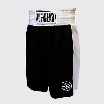 Tuf Wear Kids Junior Club Boksning Shorts Sort