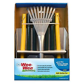 Four Paws Wee Wee All in One Dog Waste Pooper Scooper Set  - Large