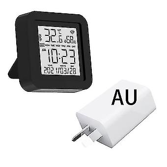 Power outlets sockets tuya wifi smart ir remote with temperature humidity sensor date display for air conditioner tv ac