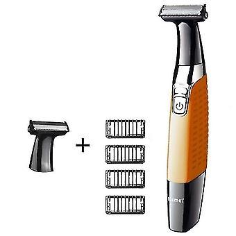 Pestävä oneblade body parranajokone kasvot sähkö parranajokone miehille reuna partaterä mies hiusten puhdistus parranajokone parta
