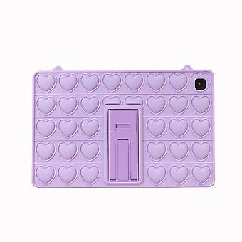 Fidget Toys Case für Samsung Galaxy Tab Push Bubble Protecive Shockproof Cover mit Ständer