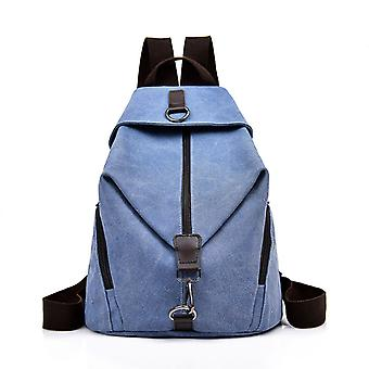 Fashion Canvas Backpack For Casual Travel And Daily Life