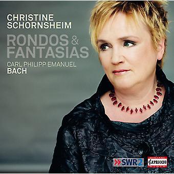 Bach / Schornsheim - Rondos & Fantasias [CD] USA import
