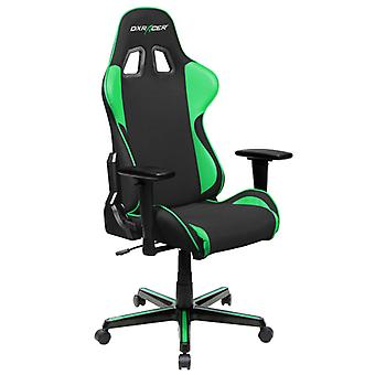 DX Racer DXRacer OH/FH11/NE High-Back Ergonomic Office Desk Chair Strong Mesh+PU(Black/Green)