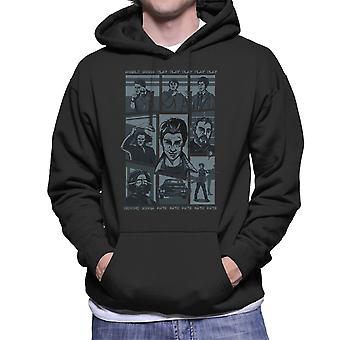 Supernatural Parody Song Hillywood Show Sam And Dean Winchester Men's Hooded Sweatshirt