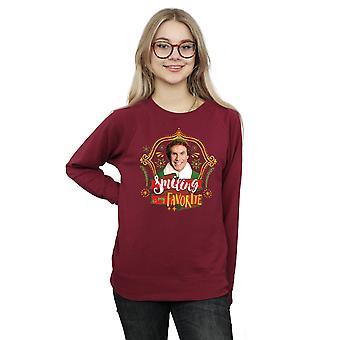 Elf Women's Buddy Smiling Sweatshirt