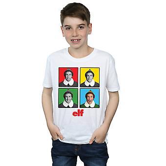 Elf jongens vier gezichten T-Shirt