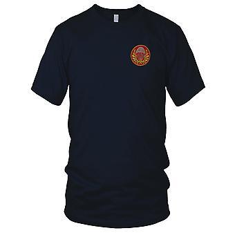 ARVN Airborne Ranger Gold geborduurd patch-militaire Insignia Vietnam oorlog geborduurd patch-mens T shirt