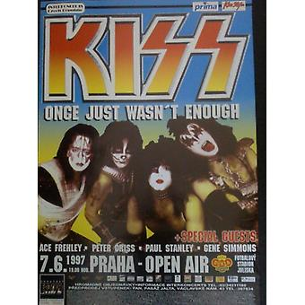 Kiss Once Just Wasnt Enough Poster