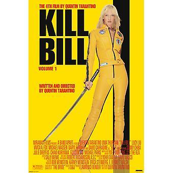 Kill Bill Vol 1 Poster Poster afdrukken