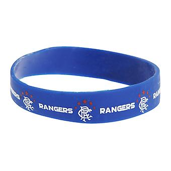 Rangers FC Official Single Rubber Football Crest Wristband