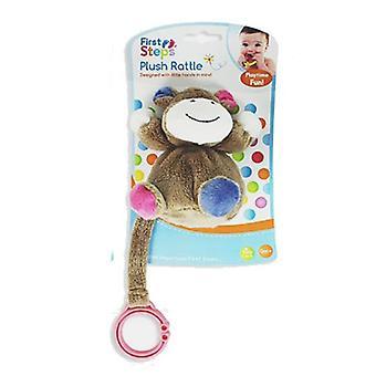 Eerste stappen Plush Baby rammelaar opknoping