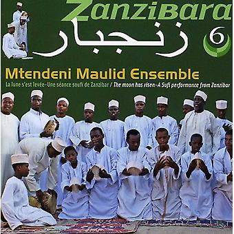 Mtendeni Maulid Ensemble - Moon Has Risen: A Sufi Performance From Zanzibar [CD] USA import