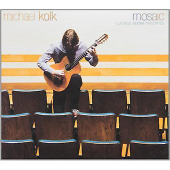 Michael Kolk - mosaico: Importazione di Preferiti di chitarra classica [CD] USA