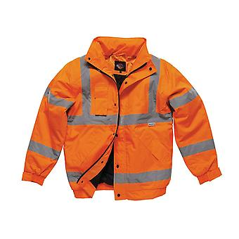 Dickies miesten työvaatteet Hei Vis Bomber takki oranssi SA22050O