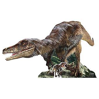 Velociraptor Dinosaur Natural History Museum Cardboard Cutout / Standee