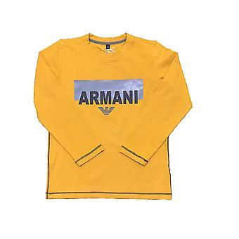 Armani Junior Boys длинным рукавом Футболки