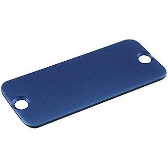 Hammond Electronics 1455CALBU-10 End cover Aluminium Blue 10 pc(s)