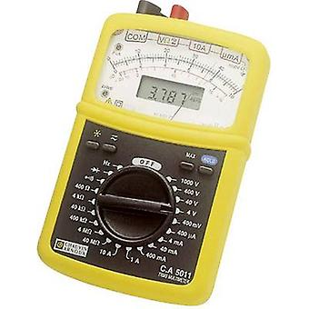 Chauvin Arnoux C.A 5011 Handheld multimeter Digital, Analogue CAT III 1000 V, CAT IV 600 V Display (counts): 4000