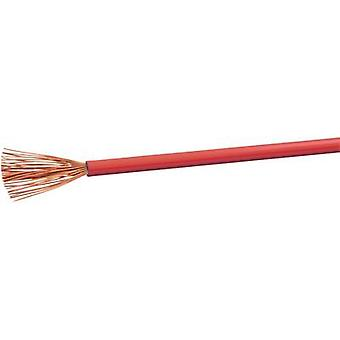 VOKA Kabelwerk H07VK15RT Flexible cable H07V-K 1 x 1.50 mm² Red 100 m