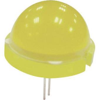 Kingbright DLC2-6SRD LED verkabelt rot Runde 20 mm 380.25 Mcd 120° 20 mA 5.55 V
