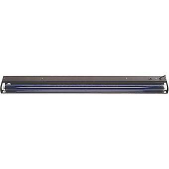 120cm metall SW UV fluorescerende rør sett 36 W svart