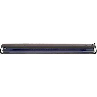 120cm metall sw UV set fluorescente 36 W nero