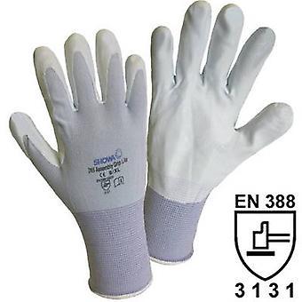 Assembly Grip Nylon Glove, Size: 8 (1164)