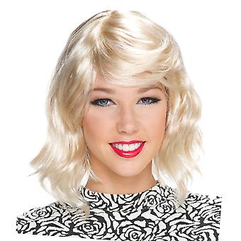 Blonde Ambition Short Loose Wave Super Star Celebrity Womens Costume Wig