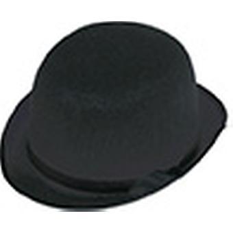 Accessori di melone medio nero cappello Halloween carnevale