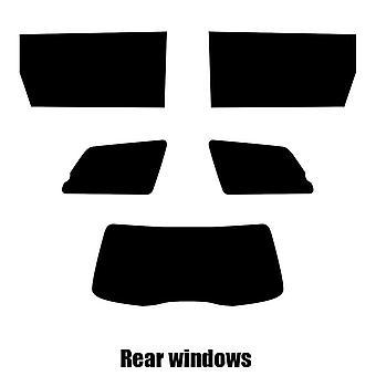 Pre cut window tint - Toyota Sienna - 2004 to 2010 - Rear windows