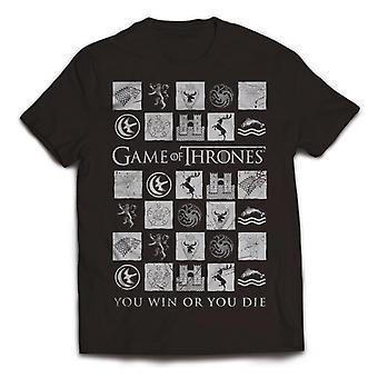 Spel van troont u Win of je sterven T-Shirt