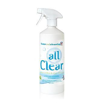 Eliminador de manchas de probióticos y removedor de olor 1L por All Clear