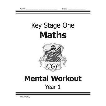 KS1 Mentale Matematikk Workout - år 1 av William Hartley - 9781841460857