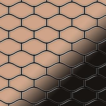 Metall mosaik koppar legering Karma-CM