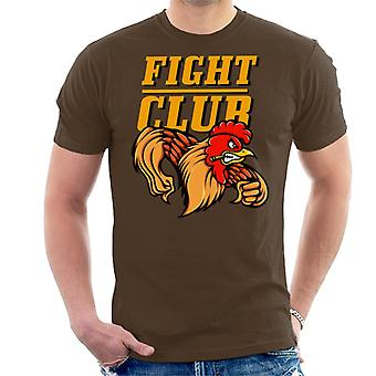 Rooster Fight Club Men's T-Shirt
