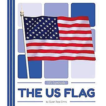 Os EUA bandeira (nos símbolos)