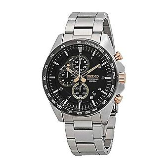 Seiko Chronograph quartz men's Watch with stainless steel band SSB323P1