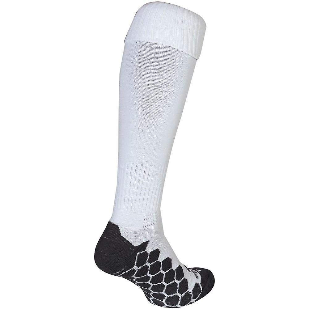 Optimum Classico Football Soccer Rugby Sport Socks White