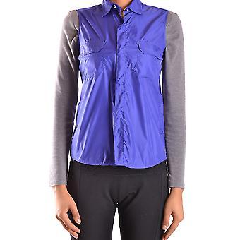 Aspesi Ezbc067044 Dames's Blauw Nylon Vest