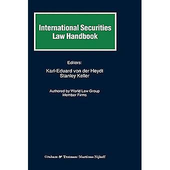Kansainvälinen arvo paperi lain säädäntö käsi kirja von der Heydt & KarlEduard