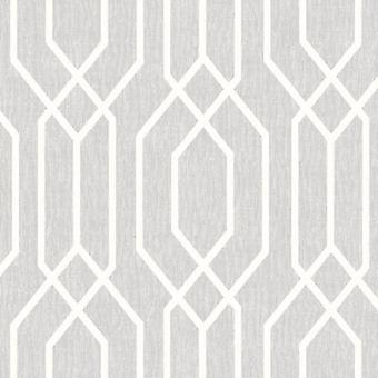 Light Grey New York Geometric Wallpaper Trellis Hexagon Modern Arthouse