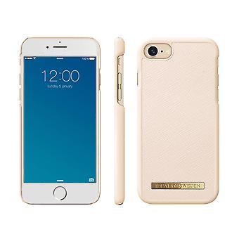 iDeal de Suecia iPhone 8/7/6/SE (2020) Saffiano Shell - Beige