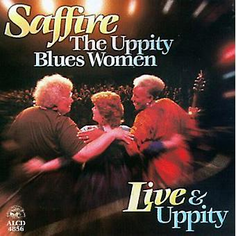 Saffire-Uppity Blues kobiety - na żywo idealna Uppity [CD] USA import
