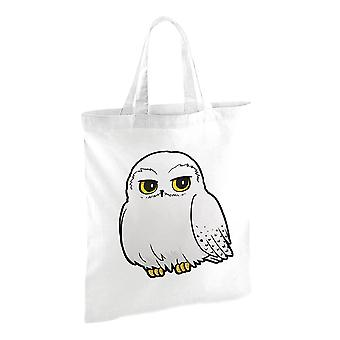 Harry Potter Cartoon Hedwig Tote Bag