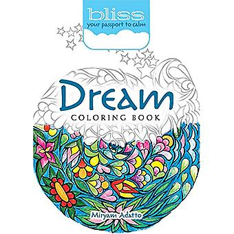 BLISS Dream Coloring Book - Your Passport to Calm by Miryam Adatto - 9