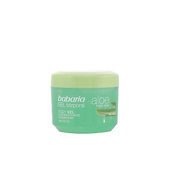 Babaria Aloe Vera 100% gel natural corporal Reparador 400 ml unisex