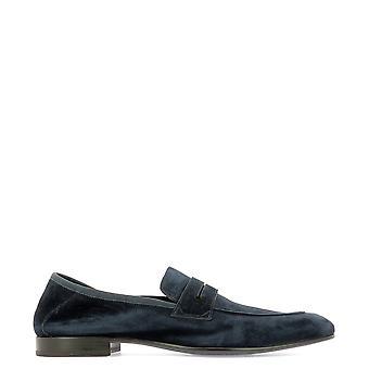 Fabi Fu9289blure Men-apos;s Blue Suede Loafers