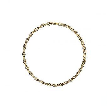 Eternity 9ct Gold hyvät 7 1/4 ' ' Prince of Wales ranne koru